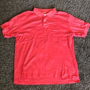 Nautica polo coral colored